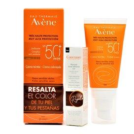 Avene Crema Coloreada Spf 50Ml + Mascara Pestañas (regalo)
