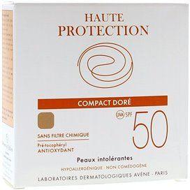 Avene Spf 50 Compacto Oil Free Dourado 10 G