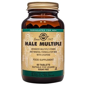 Solgar Male Multiple 60 Tabletas