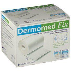 Dermomed Fix Esparadrapo Hipoalergico Tejido Sin Tejer 10 M X 10 Cm