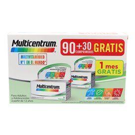 Multicentrum 90 + 30 Comprimidos Pack Promocional