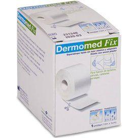 Dermomed Fix Esparadrapo Hipoalergico Tejido Sin Tejer 10 M X 5 Cm