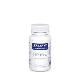 Pure Encapsulations Hierro-C 60 Capsulas