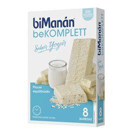 Bimanan beKomplett Snack Barritas Yogur 8 Barritas