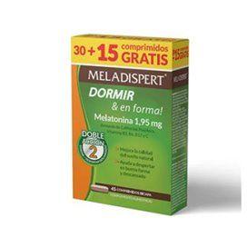 Meladispert Dormir & En Forma 30 + 15 Comprimidos Pack Ahorro