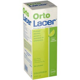 Ortolacer Mouthwash Fresh Lime 500 ml