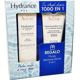 Avene Hydrance UV Cream SPF30 Rich 40Ml + Make-up Remover Fluid 3In1 100Ml
