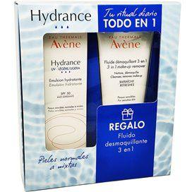 Avene Hydrance Emulsão UV SPF30 Ligera 40Ml + Fluido Desmaquilhante 3En1 100Ml