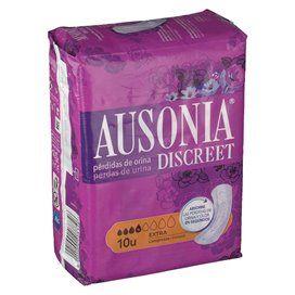 Ausonia Perdas de urina Discreet Extra 10 Unidades