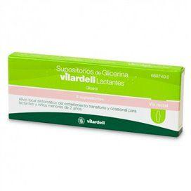 Supositorios Glicerina Vilardell Lactentes 0.92 G 6 Supositórios (Blister)