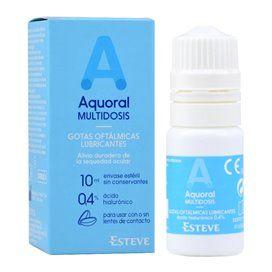 Aquoral Gotas Oftalmicas 10Ml Hialuronico 0.4% Multidose