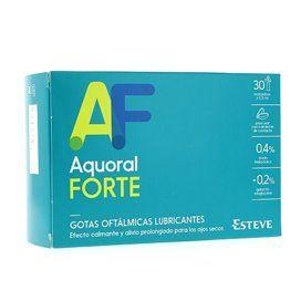 Aquoral Forte Gotas Oftálmicas 30 Dose única x 0,5Ml Hialurónico 0,4%