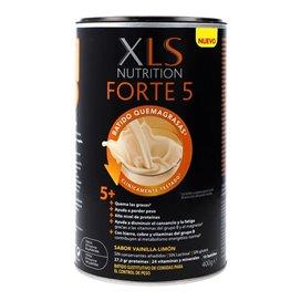 Xls Nutrition Forte 5 Batido de Queimadura Gorduras 400G Sabor Vainilla-Limon