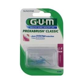 Gum Cepillo Interdental Proxabrush 612 Recambio Cilindrico 8 U