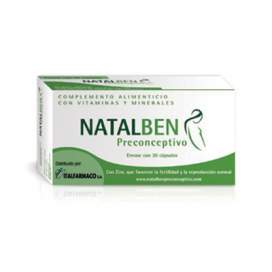 Natalben Preconceptivo 30 Capsulas EN