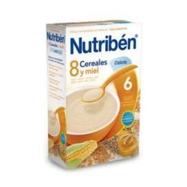 Nutriben Papilla 8 Cereales y Miel 600 G
