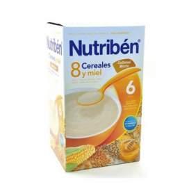 Nutriben 8 Cereales Y Miel Galletas Maria 600 G EN