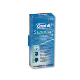 Oral-B Superfloss Seda Dental 50 U