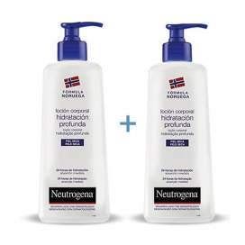 Neutrogena Locion Corporal Hidratacion Profunda Piel Seca 750ml 2 U