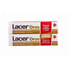 Lacer Oros Pasta Dental 2X125Ml Duplo