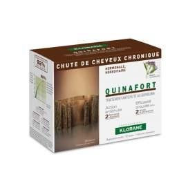 Klorane Quinafort Tratamiento Quinina Anticaida 12x5Ml Amp