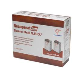 Recuperat-Ion Suero Oral S.R.O. 250 Ml 2 Brik Cola