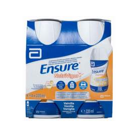 Ensure Nutrivigor Botella 4 Botella 220Ml Vainilla