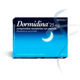 Dormidina 25 Mg 14 Tablets