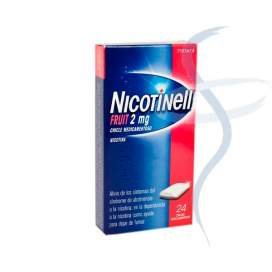 Nicotinell Fruit 2 Mg 24 Chicles Medicamentosos