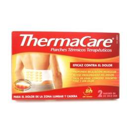 Thermacare Zona Lumbar y Cadera Parches Termicos 2 Parches