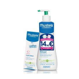 Mustela Babygel 750Ml + Hydrabebe Facial 40Ml