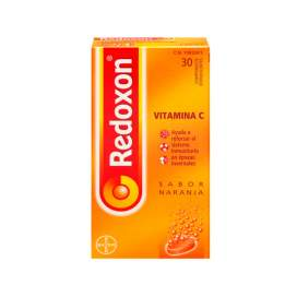Redoxon Vitamina C 1000 Mg 30 Comp Efervescentes Naranja