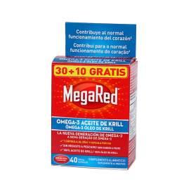 Megared 30+10 Capsulas (40 Capsulas)