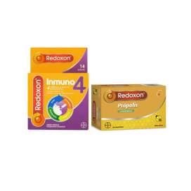 Redoxon Inmuno4 + Redoxon Propolis 20 Comp