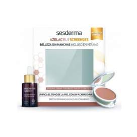 Sesderma Azelac Ru Serum + Screenses Compact Color Light 50+
