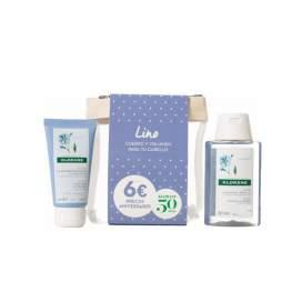 Klorane Pack Fibras Lino Champu 100Ml + Balsamo 50Ml
