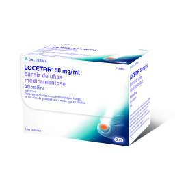Locetar 50 Mg/Ml Barniz Uñas 5 Ml (Vidrio Iii)