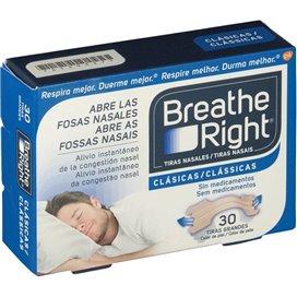 Breathe Right Tira Nasal Color Grandes 30 U