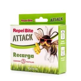 Repel Bite Attack Recambio Pulsera 2 recargas