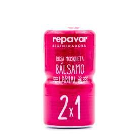 Repavar Bálsamo Labial Rosa Mosqueta 10Ml - 2X1