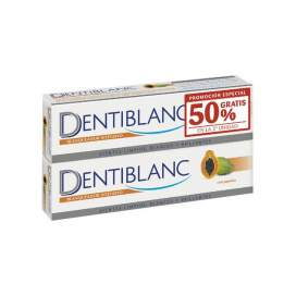 Dentiblanc Duplo pasta de clareamento de dentes Papaya 2x100ml