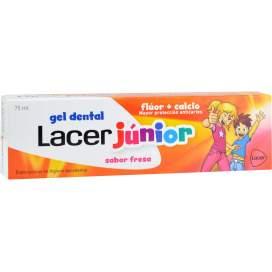Lacer Junior Gel Dental 75 Ml Fresa