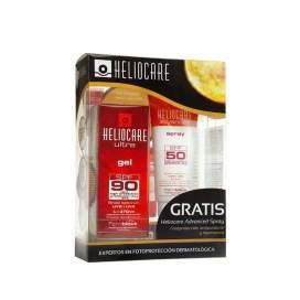 Heliocare Ultra SPF90 Gel 50Ml + Spray SFP50 75Ml