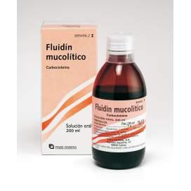 Fluidin Mucolitico 50 Mg/Ml Solucion Oral 200 Ml