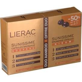 Lierac Sunissime 2X30 Capsulas Reparadoras Bronceado Rapido