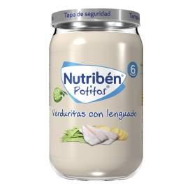 Nutriben Verduritas Con Lenguado Potito 235G