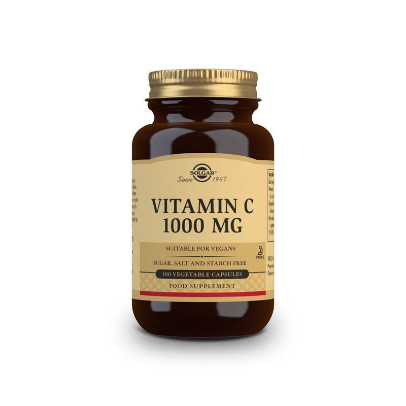 Buy Solgar Vitamin C 1000mg 100 Vegetable Capsules Deals On Solgar Brand Buy Now