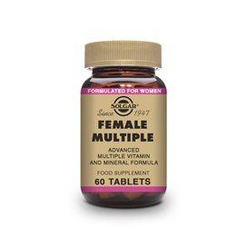 Solgar Female Multiple (complejo para la Mujer) 60 comprimidos