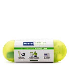 Vitis Orthodontic Pack Cepillo Cera + Pasta 15Ml + Colutorio 30Ml