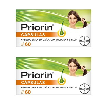 Priorin 2x60 Capsulas Antiqueda Duo